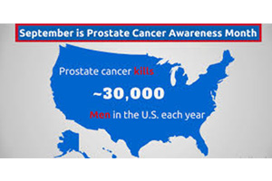 September is National Childhood Cancer and Prostate Cancer Month